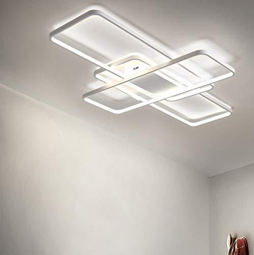 Lámpara LED de techo salón regulable para dormitorio decor techo moderna elegante...