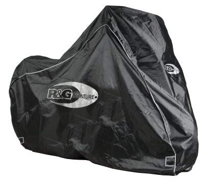 Protective Cover R&G RACING Adventure Universal Silver