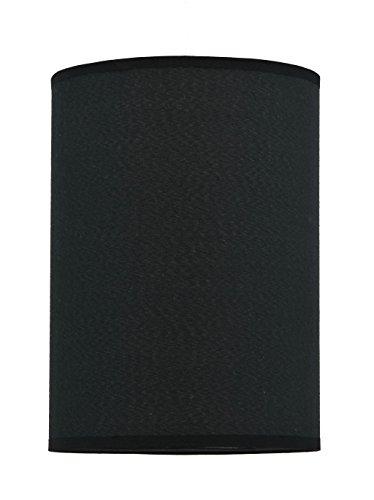 Aspen Creative 31010 Transitional Hardback Empire Shape Spider Construction Lamp Shade in Black, 8
