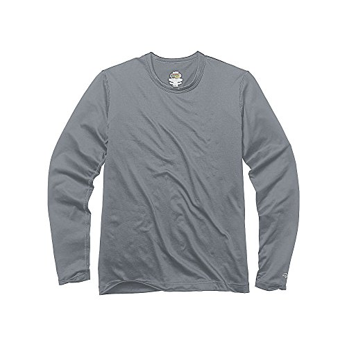 Duofold by Champion Varitherm Mid-Weight 2-Layer Kids' Thermal Shirt_Smoked Pearl_XS