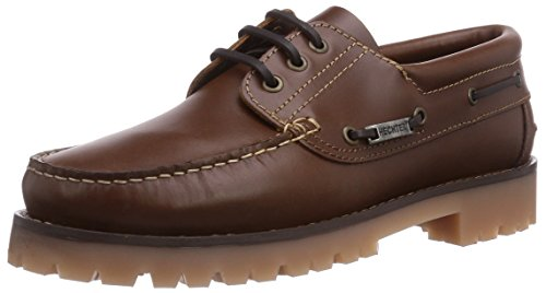 Daniel Hechter HD06028, Chaussures Bateau Homme, Marron Naturel 650, 41 EU