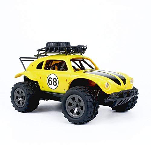 XIALIUXIA 1:18 2WD Classic Beetle Fernbedienung Auto / 2,4G RC Crawler Off-Road-Auto Buggy Moving Machine Kids Batteriebetriebene Autos RT, Kinder Erwachsene Geschenk Big-Fuß Off-Road-Buggy Jeep