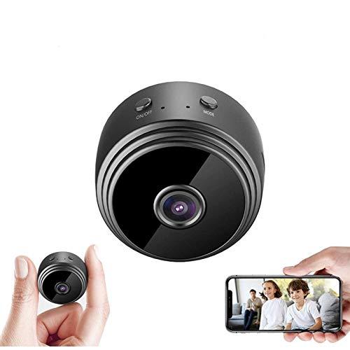 Leeba 1080P WiFi Mini cámara de visión nocturna de soporte magnético inalámbrico Home Security Videocámara gran angular DVR para Android/iOS