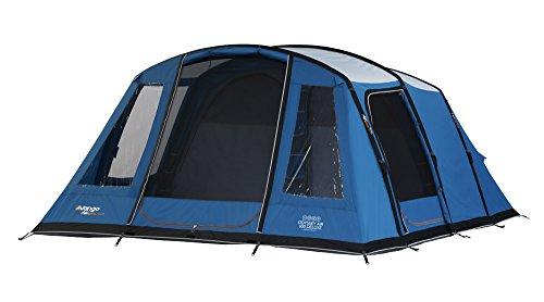 Vango Unisex Odyssey Airbeam Deluxe aufblasbares Zelt, Sky Blau, Größe 600