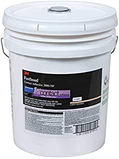 3M (2000NF) Contact Adhesive 2000NF Light Orange, 270 Gal. Tote, Returnable Poly w/Cage