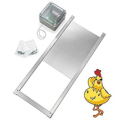 solar chicken door