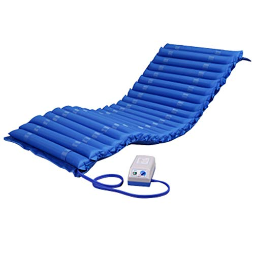 Anti-Dekubitus Medizinische Luftmatratze mit Kompressor, Wechseldruck Anti-Dekubitus Inflatable Air Pad Bett for senioren gelähmten Patienten Home Care Kissen Mat (Size : 120cm)
