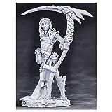 Reaper Miniatures Nimbar, Elf Necromancer #03860 Dark Heaven Unpainted Metal