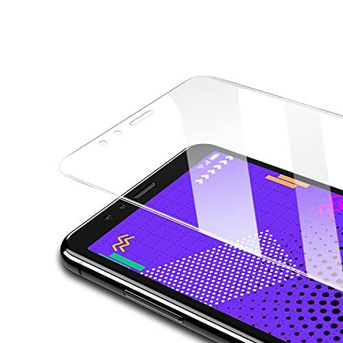 Bewahly Panzerglas Schutzfolie für Huawei P10 Lite [3 Stück], Ultra Dünn Panzerglasfolie HD Displayschutzfolie 9H Härte Glas Folie für Huawei P10 Lite -Transparent