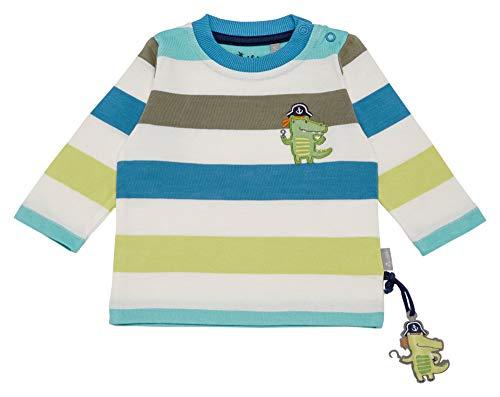 Sigikid Baby-Jungen Langarmshirt, Mehrfarbig (Snow White 37), (Herstellergröße: 74)