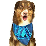 RAHJK Bandana para Perro, Pañuelos para Perro, Reversibles, Ajustables, Triangulares, Bufandas para Mascotas y Gatos ADN Genial