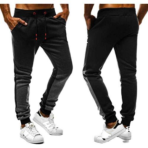 Herren Casual Pants Fashion Kordelzug Elastic Waist Sports Gradient Color Fitness HoseXX-Large