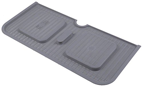 Colged platte filter voor vaatwasser ST805ST73, STEEL-7-3, ST805ST73HZ23 lengte 485mm breedte 225mm