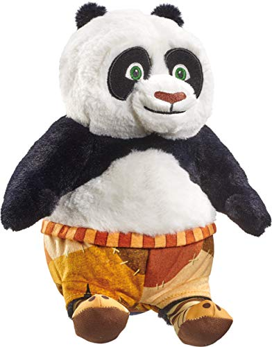 Schmidt Spiele 42716 - Peluche DreamWorks Kung Fu Panda, Po, 25 cm, multicolore