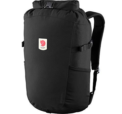 Fjallraven Ulvö Rolltop 23 Backpack, Unisex Adulto, Black, OneSize