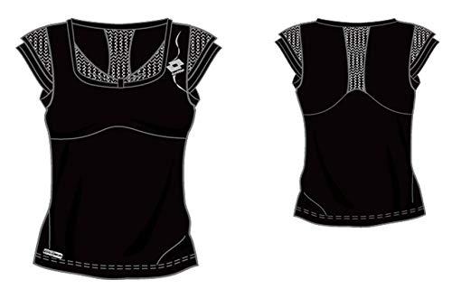 Lotto Sport T-Shirt Elegy, Femme, Noir S Noir