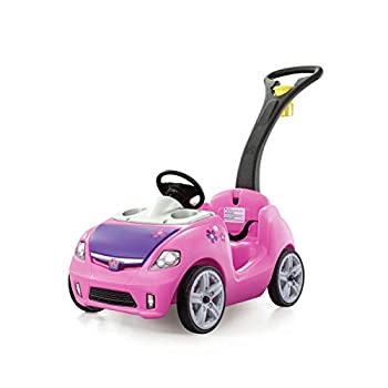 Step2 Whisper Ride II Push Car | Pink Toddler Ride On Toy