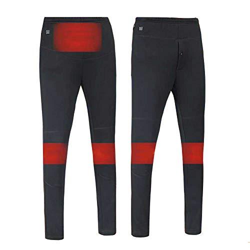 Heatile verwarmde broek, USB-temperatuur van drie versnellingen, snelle verhitting, wasbaar voor mannen en vrouwen (bevat geen batterij)