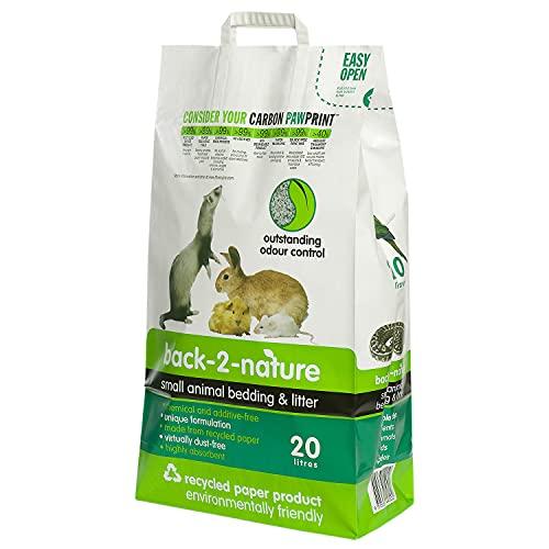 back-2-nature 12–49020Pellet carta riciclata, 20L