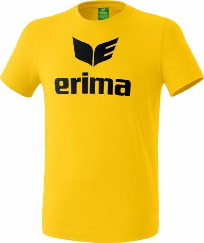 Erima Casual Basics T-Shirt Homme, Jaune, FR : M (Taille Fabricant : M)