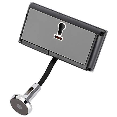 Visor de Puerta Digital, Micro Visor HD Mirilla de Puerta Digital con Pantalla LCD de 3.5 Pulgadas, Timbre de Video Digital con �ngulo Visual Súper Amplio hasta 120 °, Orificio de Ojo 720P HD