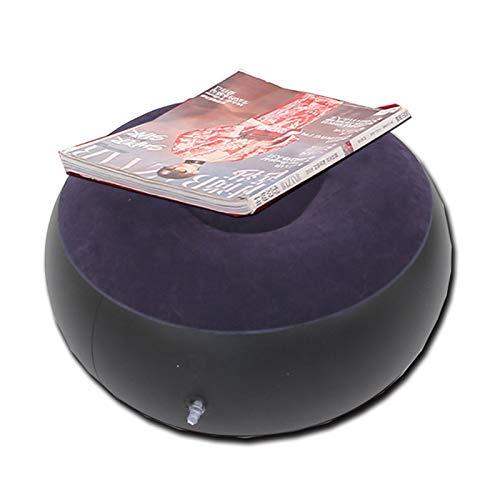 DIKAM Sistema de sofá Perezoso, reclinable Plegable Inflable, sofá Cama Interior/al Aire Libre con Pedal, Flocado Silla de sofá Cama Individual Revestimiento de Pila, Silla de Brazo de Ocio, Asie
