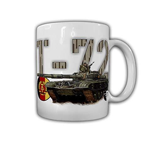 Tasse Lukas Wirp NVA T-72 Panzer DDR Gemälde Nationale Volksarmee #26853