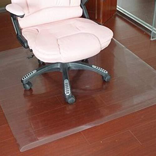 WLF-didian Bürostuhlkissen, Vinyl für Hartboden, Bodenmatte aus Weich-PVC-Kunststoff, rutschfest transparent, Bodenschutzmatte, 7 Größen,2mm,100 * 100cm
