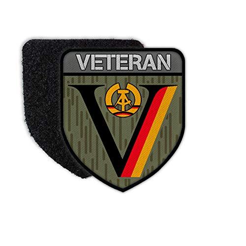 Copytec Patch NVA DDR Veteran Dienstzeit Strichtarn Reservist Nationale Aufnäher#36642