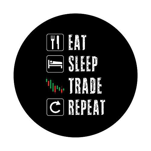 415cukhfB7L - Stock Market Trading Day Trader Options Daytrader Inversting PopSockets PopGrip: Swappable Grip for Phones & Tablets