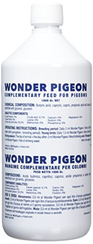 Wonder Pigeon 16-59327 Botella - 1000 g