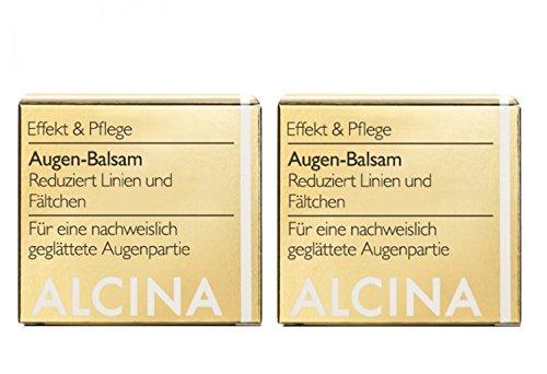 2er E Augen Balsam pflegende Kosmetik Alcina reduziert Linien und Fältchen je 15 ml = 30 ml