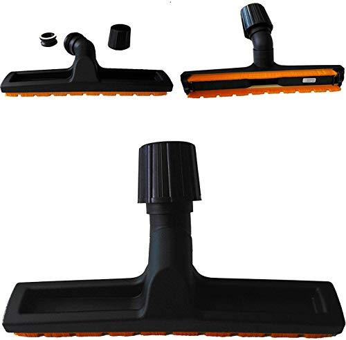 Maxorado - Bocchetta universale per pavimenti duri, 30-40 mm, per parquet, aspirapolvere compatibile con Philips CityLine FC 9210 Marathon Home 8919 Hero Performer 8385/09