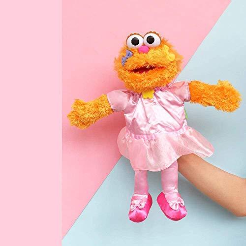Barrio Sésamo El Show De Los Muppets,Juguete De Peluche Sesame Plush Hand Puppet Toy Sesame Street Plush Cookie Monster Hand Puppet Play Games Doll Toy Puppets Toy Educativo Para Niños 35cm/ Zoe