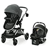 Graco Modes Nest Travel System | Includes Baby Stroller with Height Adjustable Reversible Seat, Bassinet Mode, Lightweight Aluminum Frame and SnugRide 35 Lite Elite Infant Car Seat, Sullivan