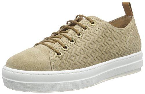 NOBRAND Luke, Damen Sneakers, Beige (cappuccino), 37 EU (4.5 Damen UK)