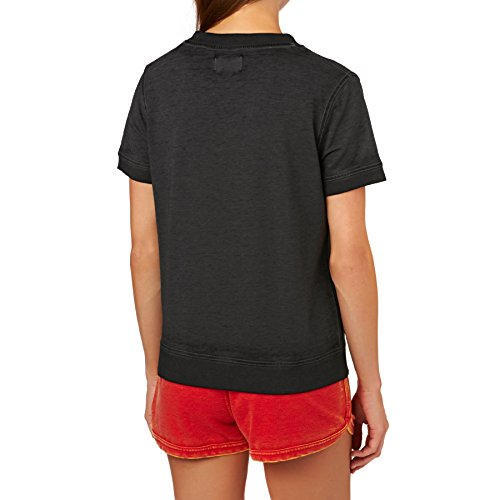 Converse Burnout 13746C T-shirt pour femme Gris foncé 010 - Gris - S