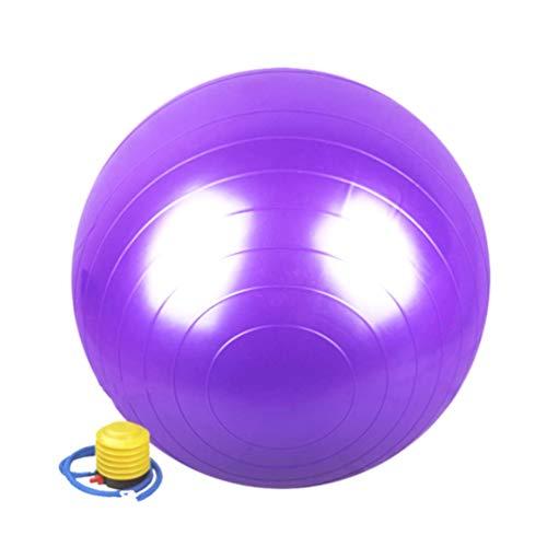 D-Work - Balón de gimnasia y fitness antiestallidos, 65 cm de diámetro,...
