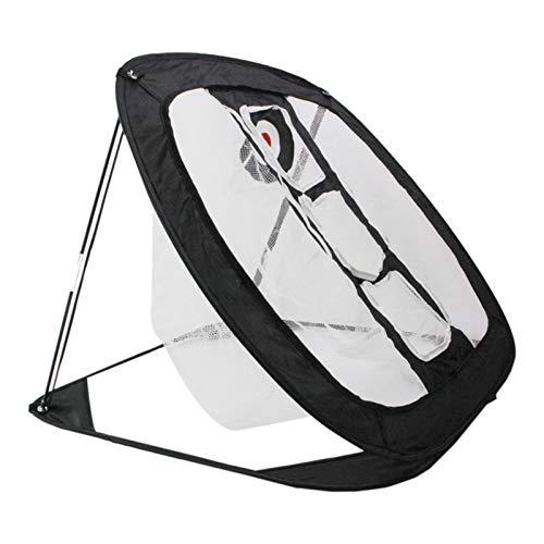 Nylon Golf PRÁCTICA Net Interior Abajo ATRÁS DE ATRÁS DE LA Caja DE JAJES PRÁCTICA Prueba Easy Net Net Golf Training AIDS (Color : Black)