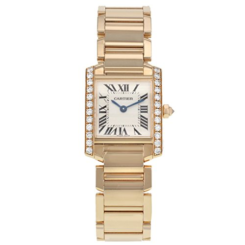 Cartier Tank Francaise Ladies Watch WE10456H