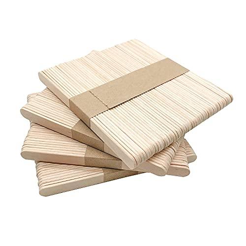 Perfect Stix Popsicle Sticks. Grade A Premium Popsicle Sticks, Pack of 1000CT, Food Grade 100% Natural Birch Wood, Premium Sticks.