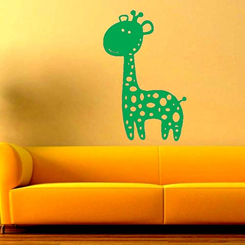 Tatuajes de pared Vinilo Arte Etiqueta de la pared Cute Cartoon Lovely Zebra Animal para Niños Niño Decoración del hogar Decoración Mural Poster 57 * 89cm