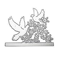 カード作成用のクリスマスメタルカッティングダイDIYエンボスペーパースクラップブッキング用のダイカットステンシル
