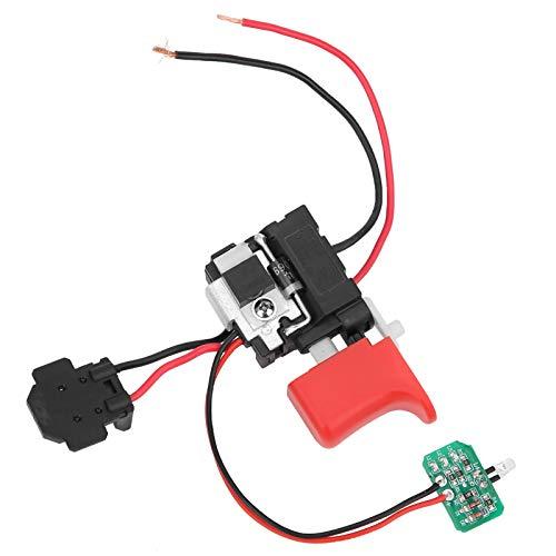 Interruptor de gatillo de taladro, Interruptor de taladro de fácil instalación, Taladros eléctricos de mano duraderos Aparatos eléctricos de control industrial para herramientas eléctricas