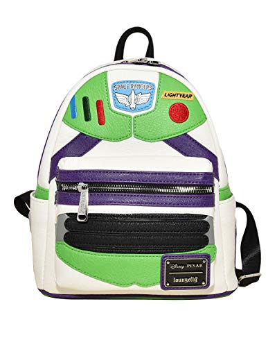 Loungefly Toy Story Buzz Lightyear Faux Leather, Multi-Colored, Size Standard