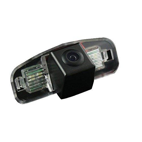 kalakus Auto HD CCD marcha atrás 170 ° amplio con radar sensor Asistente de aparcamiento universal para NTSC, Negro para Honda Spirior/Accord from 2009
