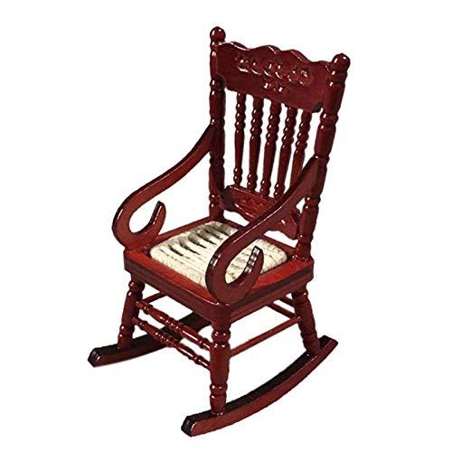 Ceally Juguetes, Juguetes para sillas pequeñas, Juguetes para mecedoras Tejidas, sillas pequeñas con reposabrazos, Mini Juguetes de simulación