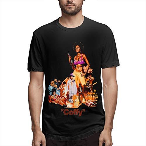 Pam Grier Men's Cotton Performance Short Sleeve T-Shirt Black M