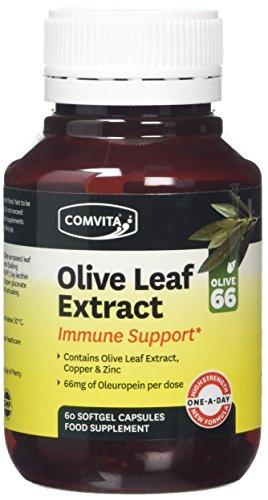 Comvita Olive Leaf Extract Immune Support Capsules with Zinc & Copper - 60 Capsules