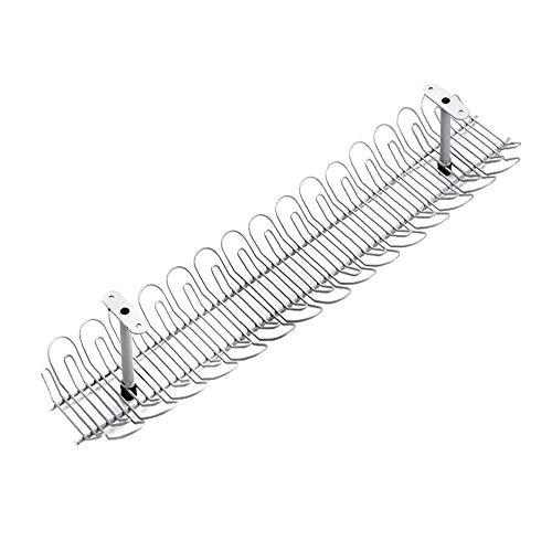 Unter Dem Tischkabel-Management-Rack,Kabel-Organizer,Kabelmanagement-Fach,Kabel-Power-Adapter-Aufbewahrungsbox-Regal,Schreibtisch-Speichersteckplatz,Kabel-Speichergerät,Netzkabel-Speicher-Manager,gr